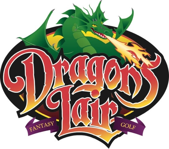 dragons lair golf logo