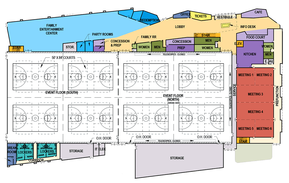 rocky mount floorplan