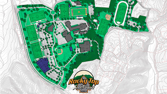 rocky top map overview