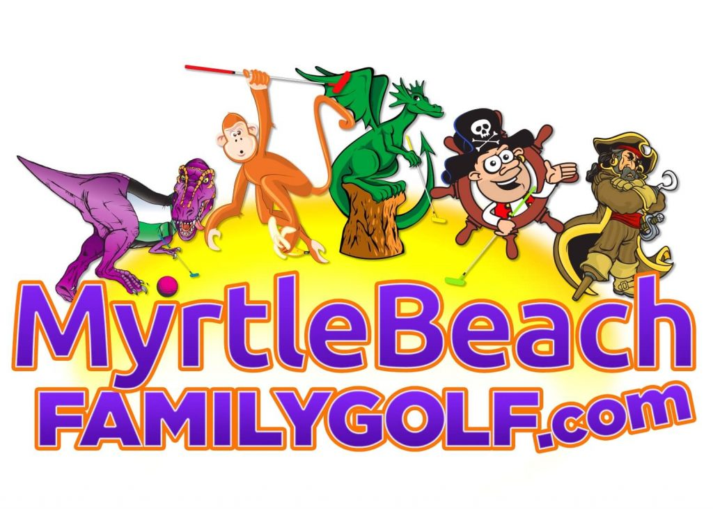 myrtle beach family golf logo